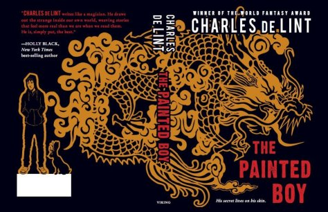 Cover photo for The Painted Boy courtesy of http://www.sfsite.com/charlesdelint/