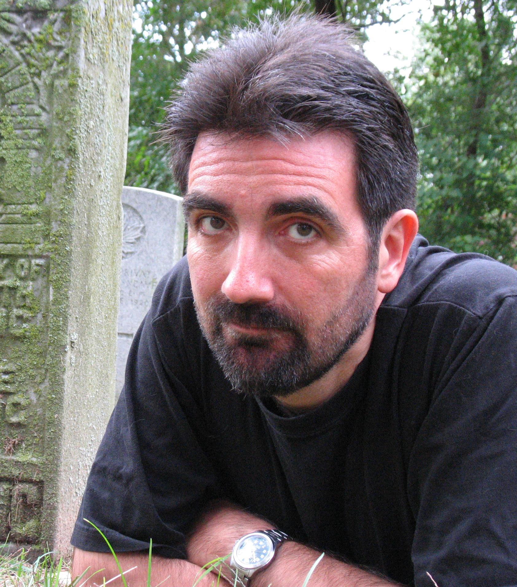 Author photo courtesy of David Nickle