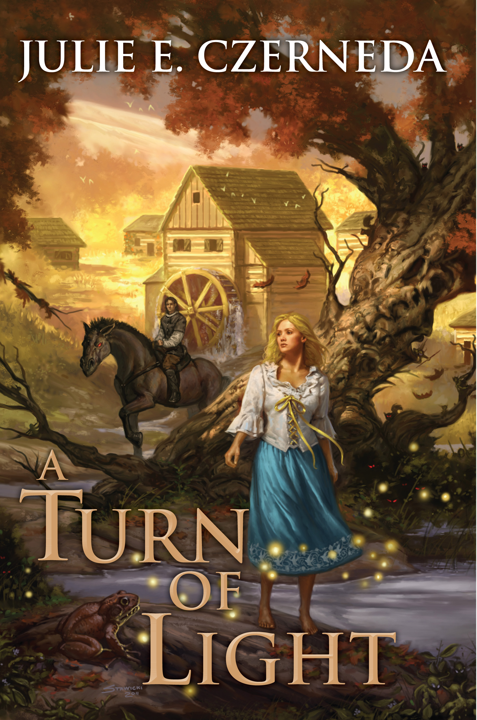 Cover Art for A Turn of Light by Matt Stawicki