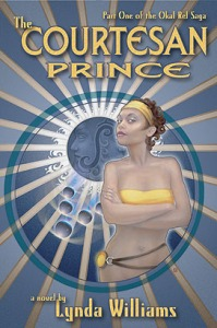 Cover photo of The Courtesan Prince courtesy of Edge Publications