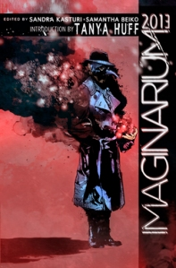 Cover image of Imaginarium 2013 courtesy of ChiZine Publications. Art work by GMB Chomichuk