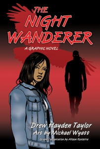 Cover photo from Annick Press. http://www.annickpress.com/Night-Wanderer-A-Graphic-Novel-The