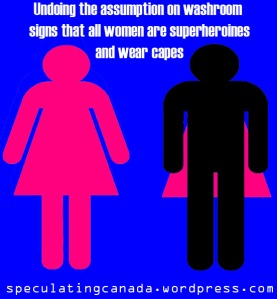 women in capes