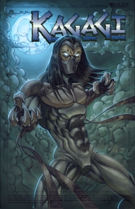 Cover Photo of Kagagi: The Raven courtesy of Jay Odjick's website http://jayodjick.deviantart.com/art/Kagagi-cover-with-logo-68276887