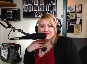 Image of Amy Jane Vosper at Trent Radio