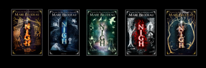 Cover Images of The Books of Nigh, courtesy of Marie Bilodeau